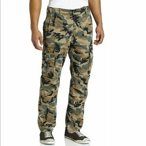 Levi's Relaxed Fit Camo Ace Cargo Twill Pants 40